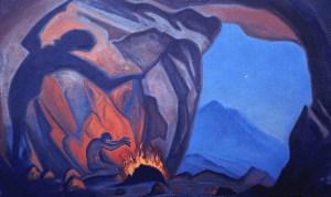 Magician by Nicholas Roerich