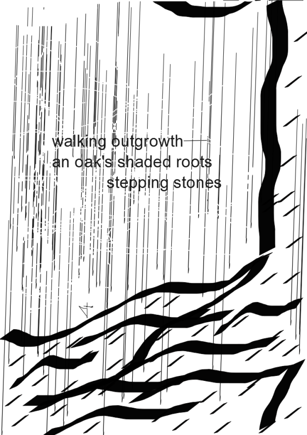 """Walking Outgrowth"" by Mr. Joshua Williams of On  The Morning Rooftop."