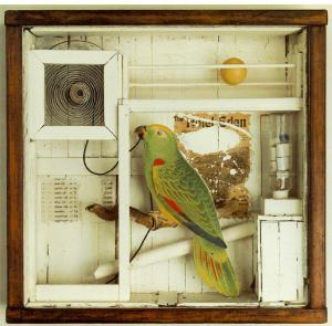 Untitled (Hotel Eden) by Joseph Cornell, National Museum of Canada, Ottawa, picture from WebMuseum, Paris