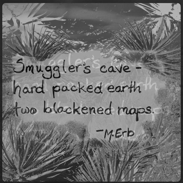 Smugglerscavehaiku